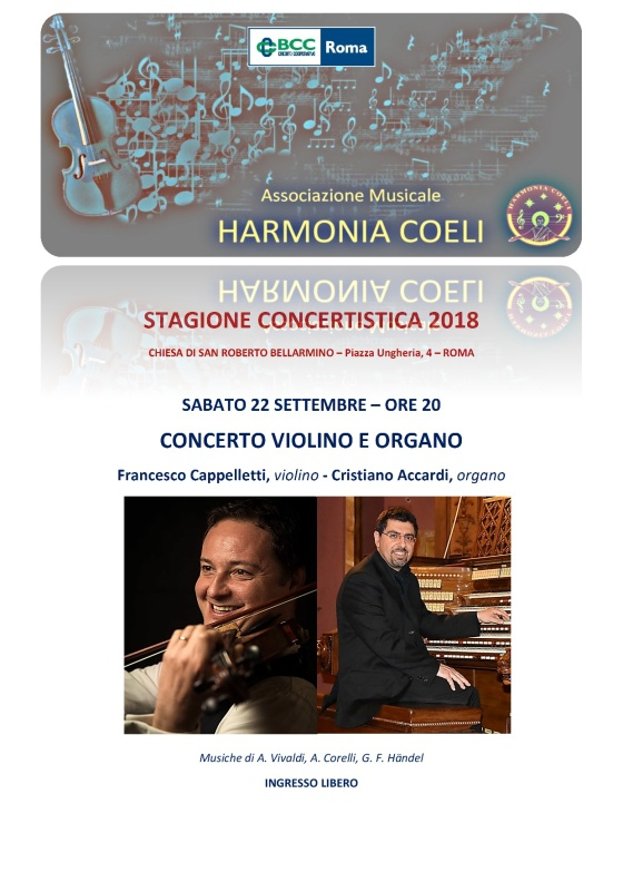 STAGIONE CONCERTISTICA 2018-001